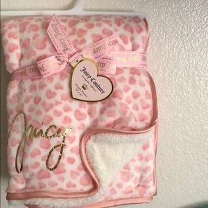 New Juicy couture baby blanket